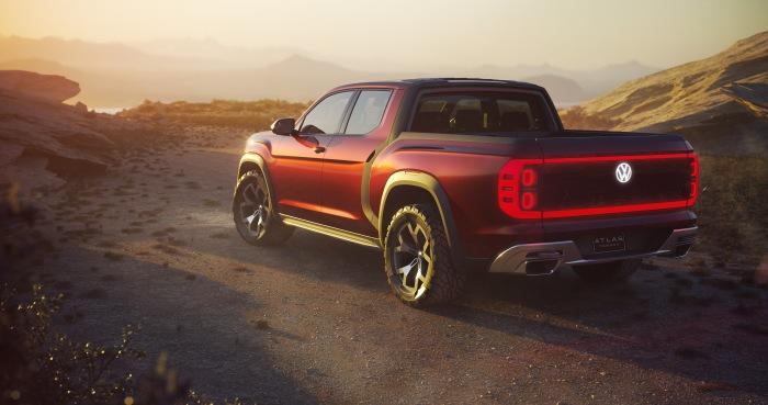 Volkswagen Atlas Tanoak pickup concept - image 7