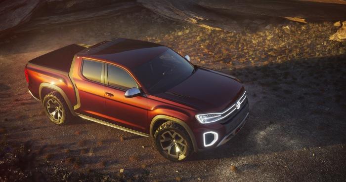 Volkswagen Atlas Tanoak pickup concept - image 8
