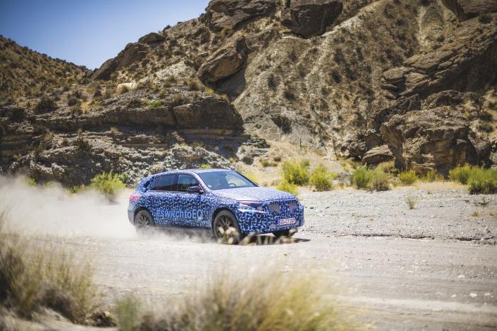 Mercedes EQC summer testing - image 4