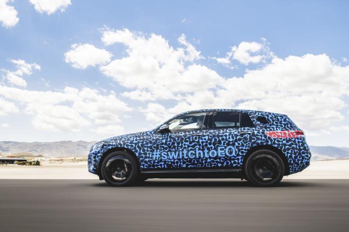 Mercedes EQC summer testing - image 11