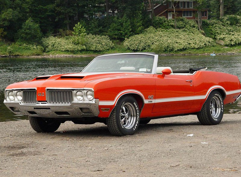 1970 Oldsmobile 442 W-30 Convertible - image 11718