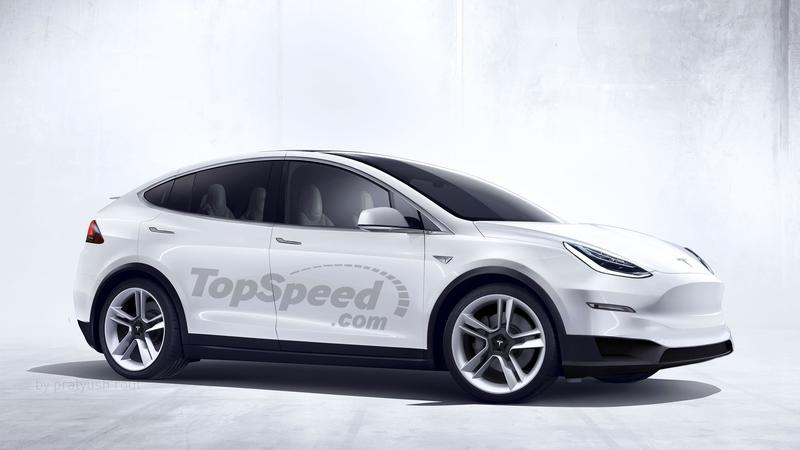What Kind of Performance Can We Expect From the 2020 Tesla Model Y? Exterior Exclusive Renderings Computer Renderings and Photoshop - image 722135