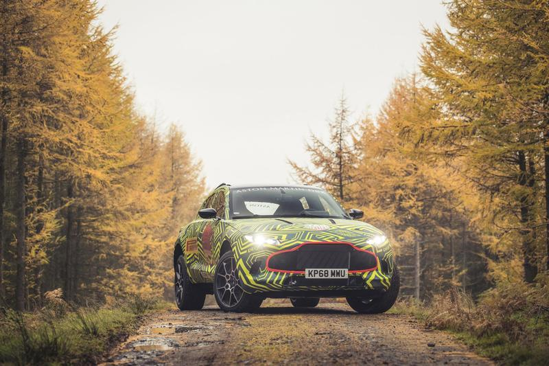 Everything We Know About the Aston Martin DBX Exterior Spyshots - image 804541