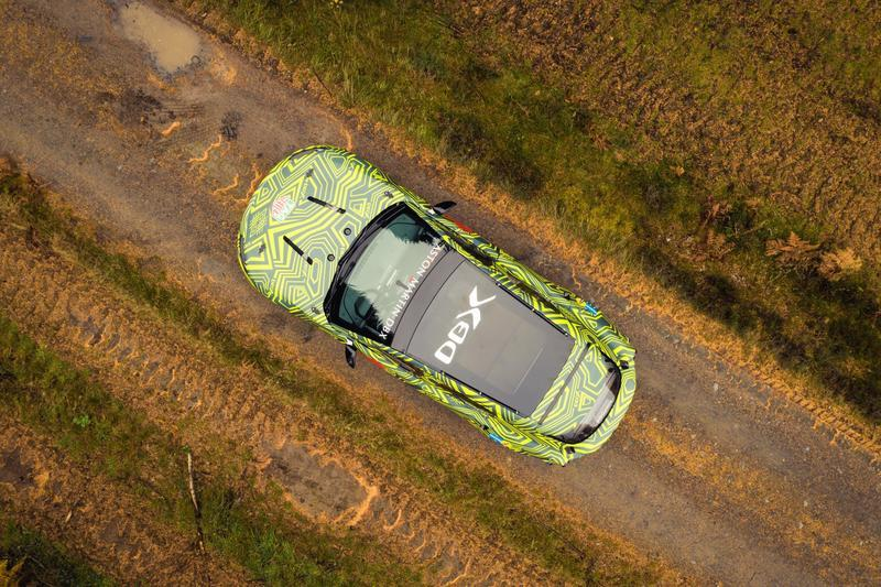 Everything We Know About the Aston Martin DBX Exterior Spyshots - image 804549