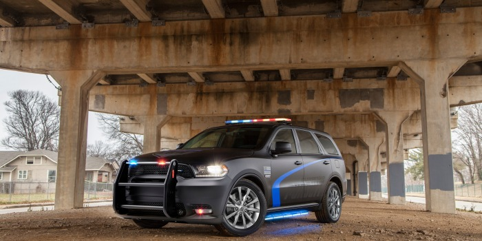 FCA shows off 2019 Dodge Durango Pursuit to America's sheriffs