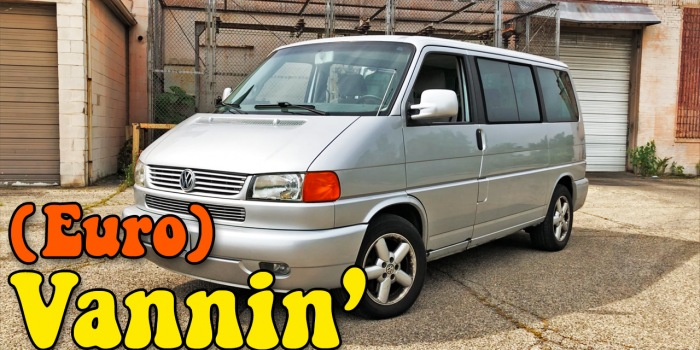 A video intro: For some reason I bought a 2001 VW EuroVan