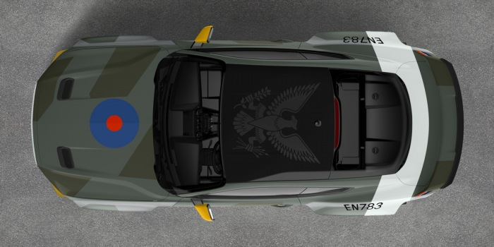 Ford builds one-off Eagle Squadron Mustang for charity