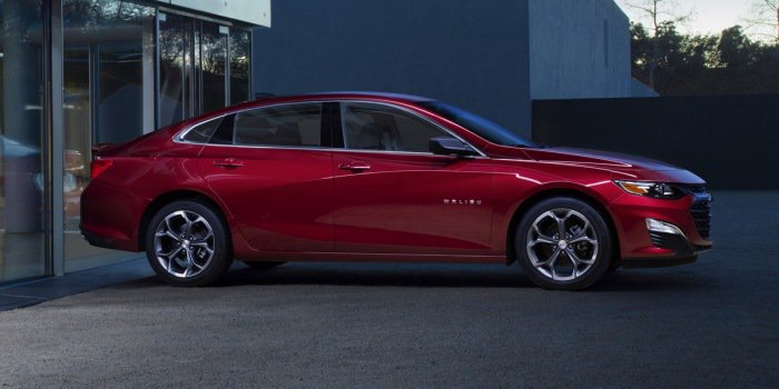GM refreshes Chevy Malibu, adds RS trim
