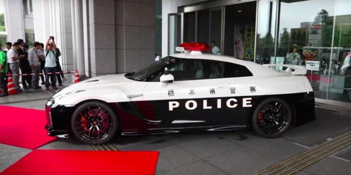 Japan gets a Nissan GT-R police car