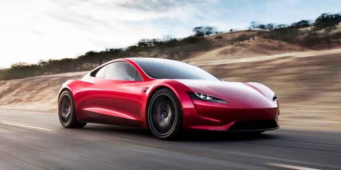 No joke: Elon Musk explains Tesla Roadster rocket thrusters