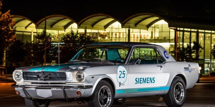 Self-driving 1965 Mustang to tackle Goodwood Hillclimb