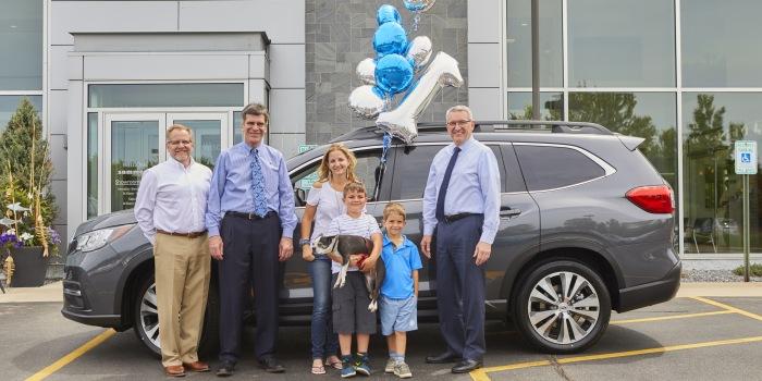 Subaru sells its first three-row Ascent CUV