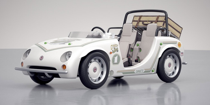 The Toyota Camatte lets kids take the wheel for a road trip