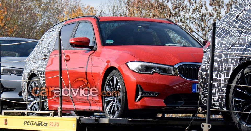 2019 bmw 3 series touring spied with less camouflage revrebel. Black Bedroom Furniture Sets. Home Design Ideas