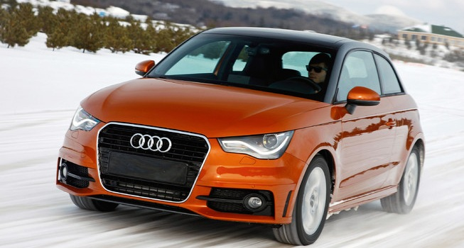 Audi's new paint process: two tones in single application